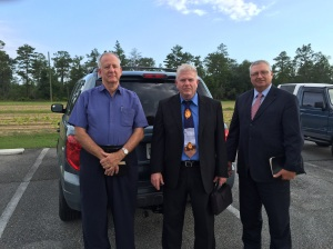 Prison Preachers: Gary Ginsky, Benjamin Gilley, Mike Overman